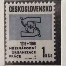 Sellos: SELLOS CHECOSLOVAQUIA 1968. Lote 57121350