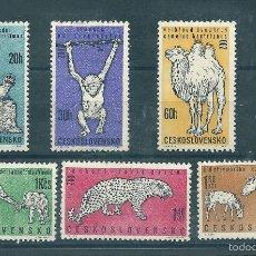 Sellos: CHECOSLOVAQUIA Nº 1214/9 (YVERT). AÑO 1962.. Lote 58135778