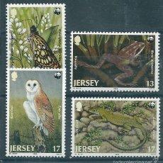 Sellos: JERSEY Nº 471/3 (YVERT). AÑO 1989.. Lote 58136032