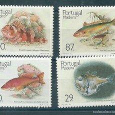 Sellos: MADEIRA Nº 136/9 (YVERT). AÑO 1989.. Lote 58136372