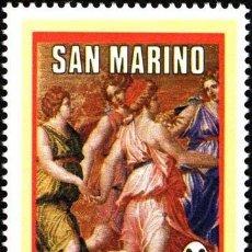 Sellos: SAN MARINO 1986 IVERT 1143 *** 25º ANIVERSARIO DE LA SOCIEDAD CORAL DE SAN MARINO - MUSICA. Lote 58297446