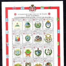 Sellos: ORDEN DE MALTA AEREO F 26** - AÑO 1986 - ACUERDOS POSTALES. Lote 58312309
