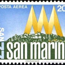 Sellos: SAN MARINO AEREO 1977 IVERT 143 *** EXPOSICIÓN FILATÉLICA INTERNACIONAL - SAN MARINO-77 . Lote 58413177