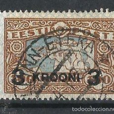 Sellos: ESTONIA 1930 SELLO DE 1924 SOBRECARGADO. Lote 58436428