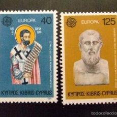 Sellos: CHIPRE CHYPRE CYPRUS 1980 EUROPA YVERT Nº 515 / 516 ** MNH. Lote 59617843
