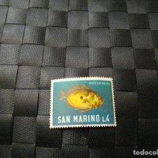 Sellos: BONITO SELLO DE LA REPUBLICA DE SAN MARINO EL DE LA FOTO VER TODOS MIS LOTES DE SELLOS. Lote 61898256