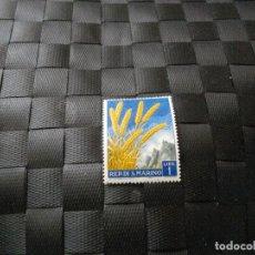 Sellos: BONITO SELLO DE LA REPUBLICA DE SAN MARINO EL DE LA FOTO VER TODOS MIS LOTES DE SELLOS. Lote 61898696