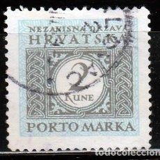 Sellos: 1942. CROACIA. PORTO MARKA*,MH. Lote 62511260
