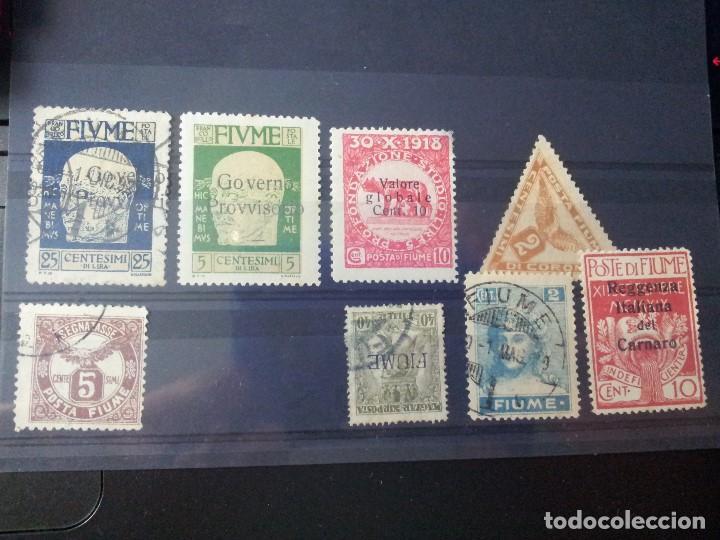 Sellos: Sellos de Rijeka (Fiume), de entre 1918 y 1924 - Foto 5 - 63158832