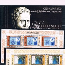 Sellos: GIBRALTAR.CONJUNTO DE SERIES COMPLETAS Y NUEVAS. VALOR 90 EUROS. Lote 65743214