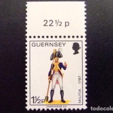 Sellos: GUERNSEY GUERNESEY 1974 YVERT Nº 90 ** MNH. Lote 69747417
