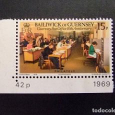 Sellos: GUERNSEY GUERNESEY 1979 YVERT Nº 193 ** MNH. Lote 69749521