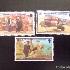 Sellos: GUERNSEY GUERNESEY 1980 YVERT Nº 201 / 03 ** MNH. Lote 69756881