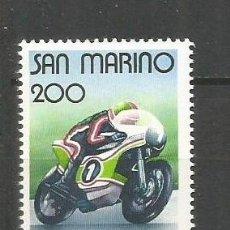 Sellos: SAN MARINO YVERT NUM. 1029 ** SERIE COMPLETA SIN FIJASELLOS. Lote 70082277