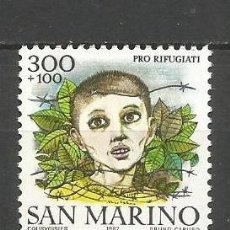 Sellos: SAN MARINO YVERT NUM. 1066 ** SERIE COMPLETA SIN FIJASELLOS. Lote 114513156