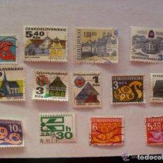 Sellos: LOTE DE 13 SELLO DE CHECOSLOVAQUIA , EPOCA COMUNISTA. Lote 71625071