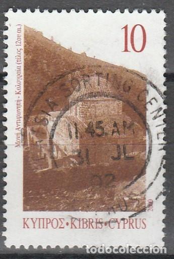 CHIPRE. 2000 . IGLESIAS *.MH, (17-324) (Sellos - Extranjero - Europa - Otros paises)