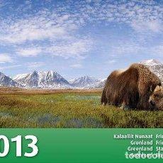 Sellos: [CF9012] GROENLANDIA 2013, LIBRO EMISIONES 2013 (MNH). Lote 80132157