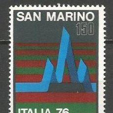 Sellos: SAN MARINO YVERT NUM. 927 ** SERIE COMPLETA SIN FIJASELLOS . Lote 80287953