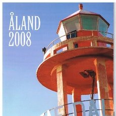 Sellos: [CF9019] ISLAS ALAND 2008, CARPETA ANUAL (MNH). Lote 80338401