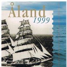Sellos: [CF9021] ISLAS ALAND 1999, CARPETA ANUAL (MNH). Lote 80340497