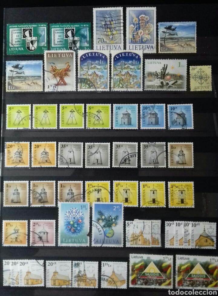 Sellos: Sellos de Lituania en álbum de 4 páginas - Foto 2 - 83570819
