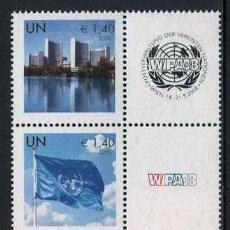 Sellos: NACIONES UNIDAS (SEDE VIENA) - PERSONALIZADOS EXPO WIPA (2008) **. Lote 84749232