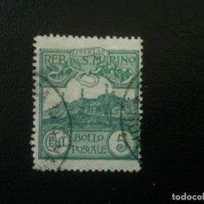 Sellos: SAN MARINO , YVERT Nº 35 , 1903. Lote 86381620