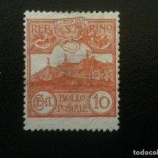 Sellos: SAN MARINO , YVERT Nº 70 NUEVO SIN GOMA , 1921-22. Lote 86384276