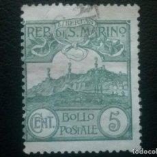 Sellos: SAN MARINO , YVERT Nº 35 , 1903. Lote 87318880