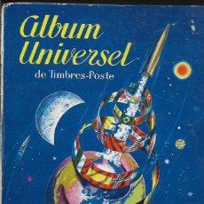 Sellos: ALBUM UNIVERSAL DE SELLOS -CONTIENE UNOS 200. Lote 96429511