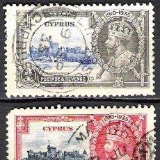 Sellos: CHIPRE 1935 - USADO. Lote 98840955