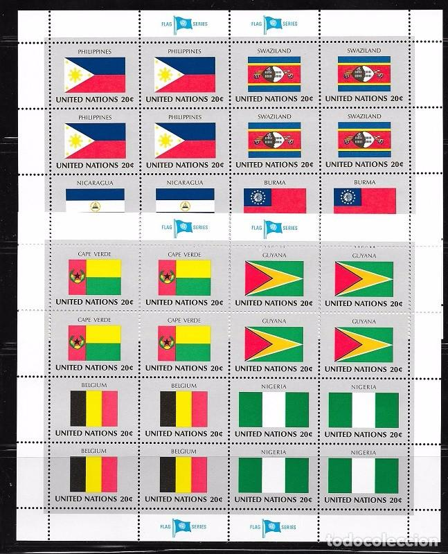NACIONES UNIDAS NEW YORK YVERT Nº 365/80** (Sellos - Extranjero - Europa - Otros paises)