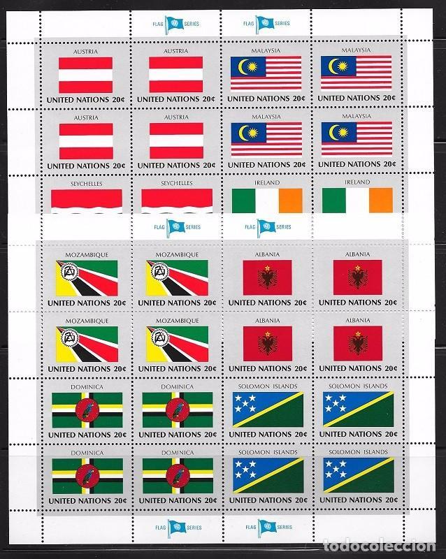 Sellos: NACIONES UNIDAS NEW YORK YVERT Nº 365/80** - Foto 2 - 99743807