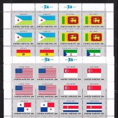 Sellos: NACIONES UNIDAS NEW YORK YVERT Nº 341/56**. Lote 99744787