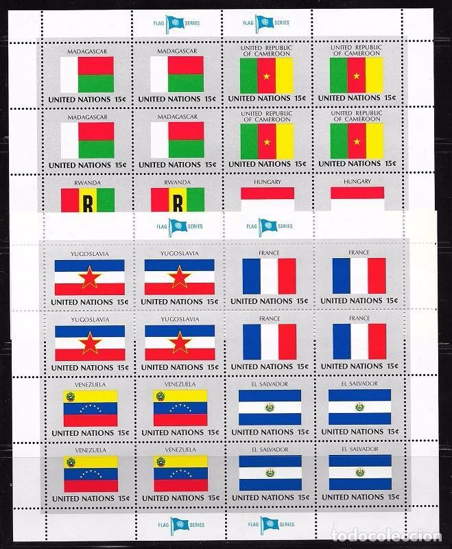 NACIONES UNIDAS NEW YORK YVERT Nº 316/31** (Sellos - Extranjero - Europa - Otros paises)