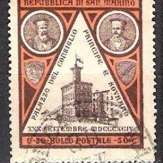 Sellos: SAN MARINO 1894 - USADO. Lote 101272035