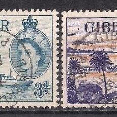 Sellos: GIBRALTAR 1953 - USADO. Lote 101624611