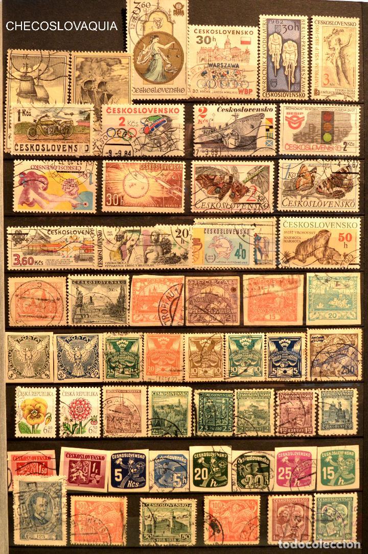 LOTE 550 SELLOS EUROPA SELLO USADO VER TODOS EN FOTOGRAFIAS SUECIA LUXEMBURGO MONACO POLONIA GRECIA (Sellos - Extranjero - Europa - Otros paises)