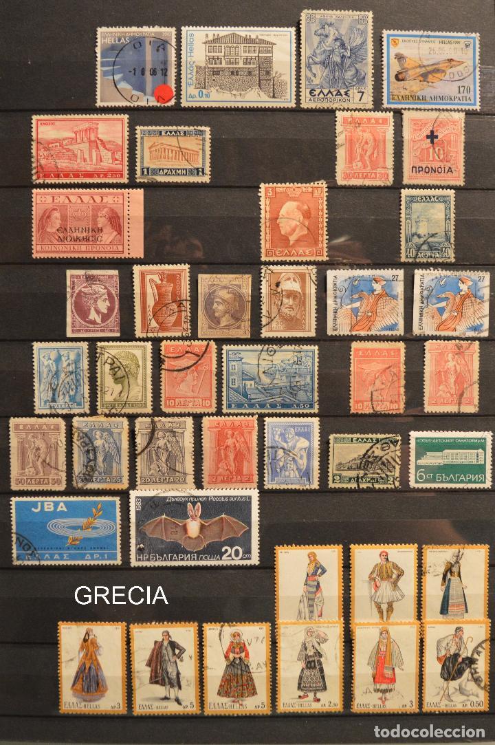 Sellos: LOTE 550 SELLOS EUROPA SELLO USADO VER TODOS EN FOTOGRAFIAS SUECIA LUXEMBURGO MONACO POLONIA GRECIA - Foto 3 - 107242587