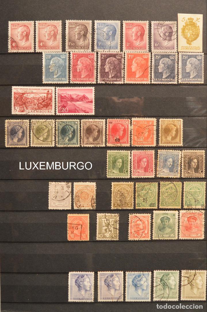 Sellos: LOTE 550 SELLOS EUROPA SELLO USADO VER TODOS EN FOTOGRAFIAS SUECIA LUXEMBURGO MONACO POLONIA GRECIA - Foto 4 - 107242587