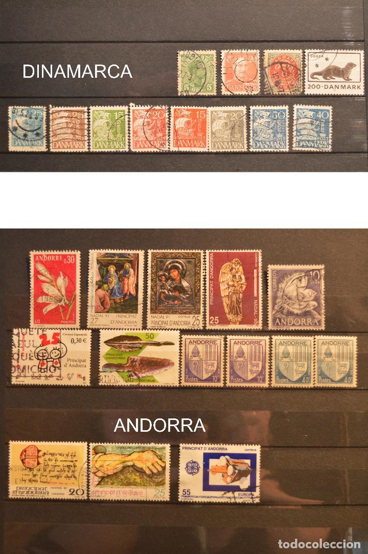 Sellos: LOTE 550 SELLOS EUROPA SELLO USADO VER TODOS EN FOTOGRAFIAS SUECIA LUXEMBURGO MONACO POLONIA GRECIA - Foto 8 - 107242587