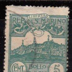 Sellos: SAN MARINO ,1903 YVERT Nº 35. Lote 107615719