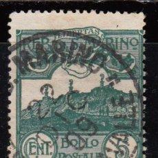 Sellos: SAN MARINO ,1903 YVERT Nº 35. Lote 107615727