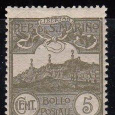 Sellos: SAN MARINO ,1921 - 1922 YVERT Nº 69 / * */ . Lote 107616135