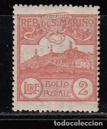SAN MARINO ,1921 - 1922 YVERT Nº 80 / * / (Sellos - Extranjero - Europa - Otros paises)