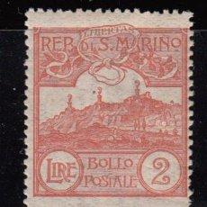 Sellos: SAN MARINO ,1921 - 1922 YVERT Nº 80 / * / . Lote 107616475