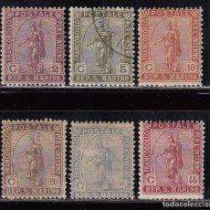 Sellos: SAN MARINO ,1922 YVERT Nº 81 / 86 / * / . Lote 107616743