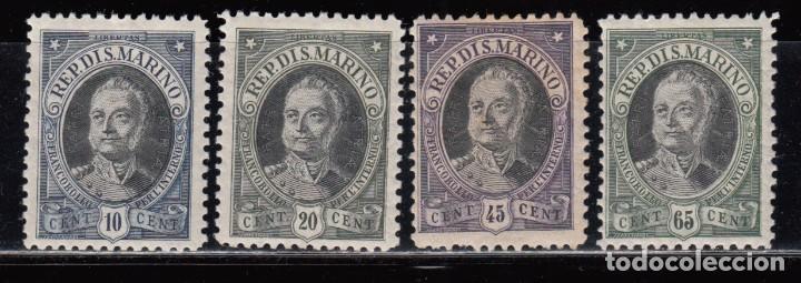 SAN MARINO ,1926 YVERT Nº 122 , 123 , 124 , 125 , / * / (Sellos - Extranjero - Europa - Otros paises)