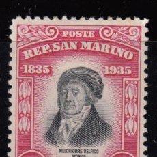 Sellos: SAN MARINO ,1935 YVERT Nº 196 / * / . Lote 107651687